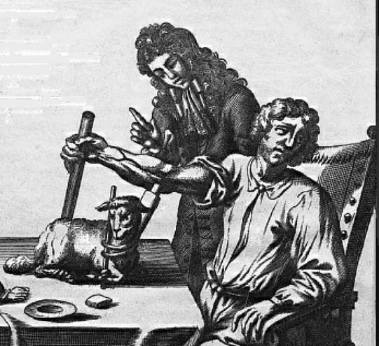 12 giugno 1667: Jean Baptiste Denis effettua la prima trasfusione di sangue