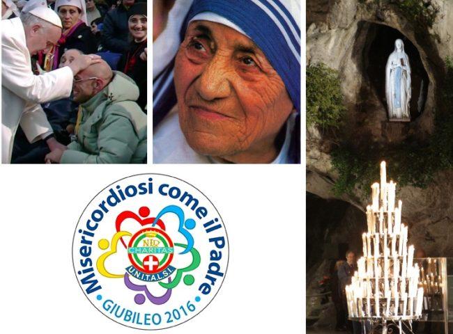 A Lourdes sulle orme di Madre Teresa