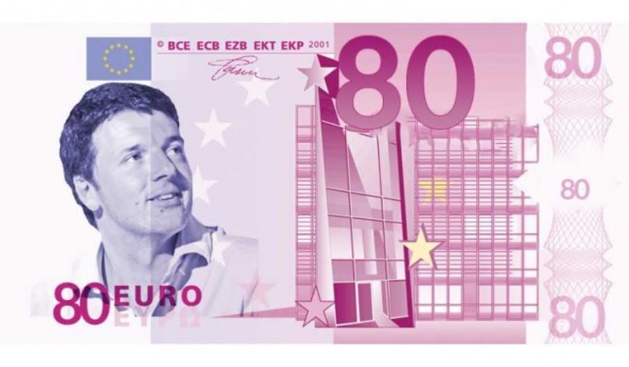 """La donazione degli 80 € e ... """"i pensieri impensabili"""""""