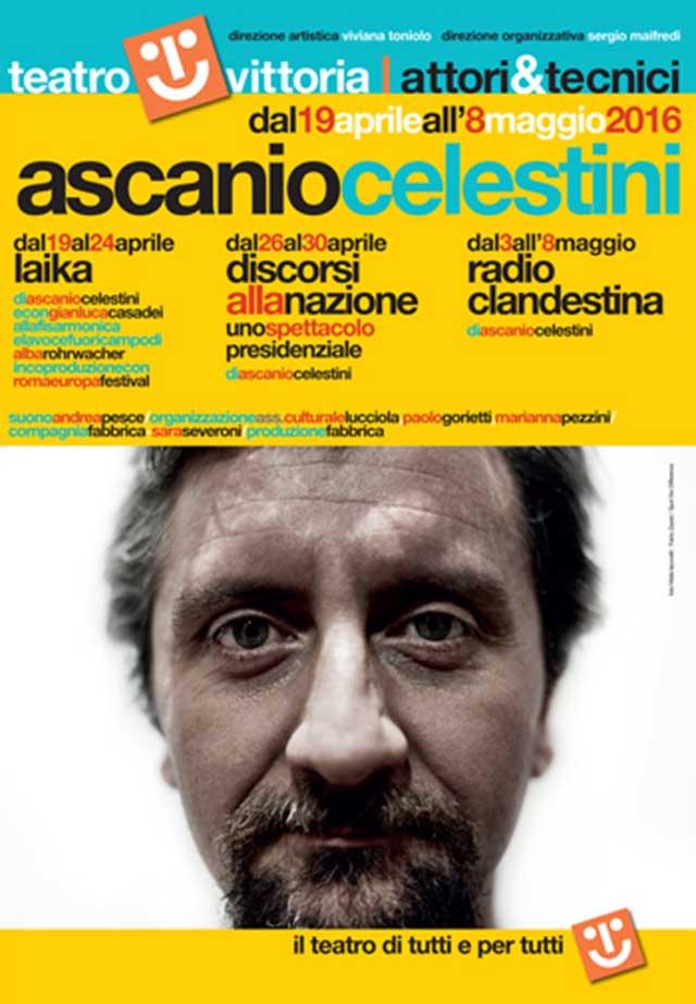 Laika, Discorsi alla nazione e Radio clandestina al Teatro Vittoria di Roma