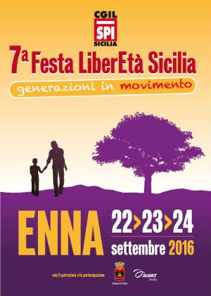 """Enna, al via la 7^ festa regionale di """"LiberEtà"""""""
