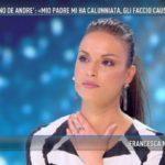 """Francesca De Andrè a Domenica Live: """"C'è un esposto legale contro mio padre Cristiano De Andrè"""""""