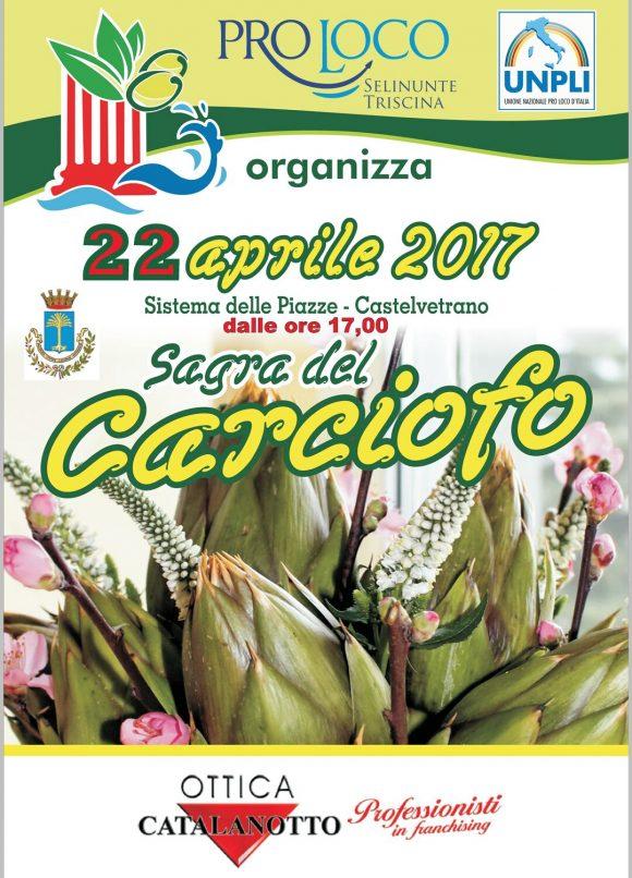 Sabato 22, Sagra del Carciofo a Castelvetrano