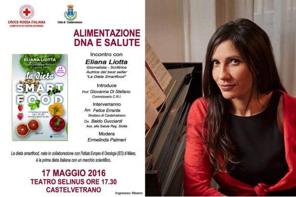 Al Selinus, convegno sulla Dieta Smartfood con Eliana Liotta