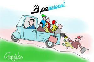 Over 63 tutti sull'Ape di Renzi