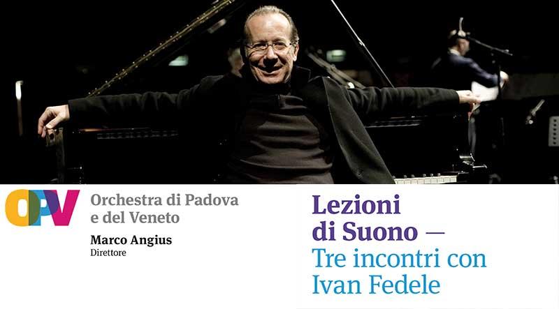 A lezione di suono con Ivan Fedele e l'Orchestra di Padova e del Veneto