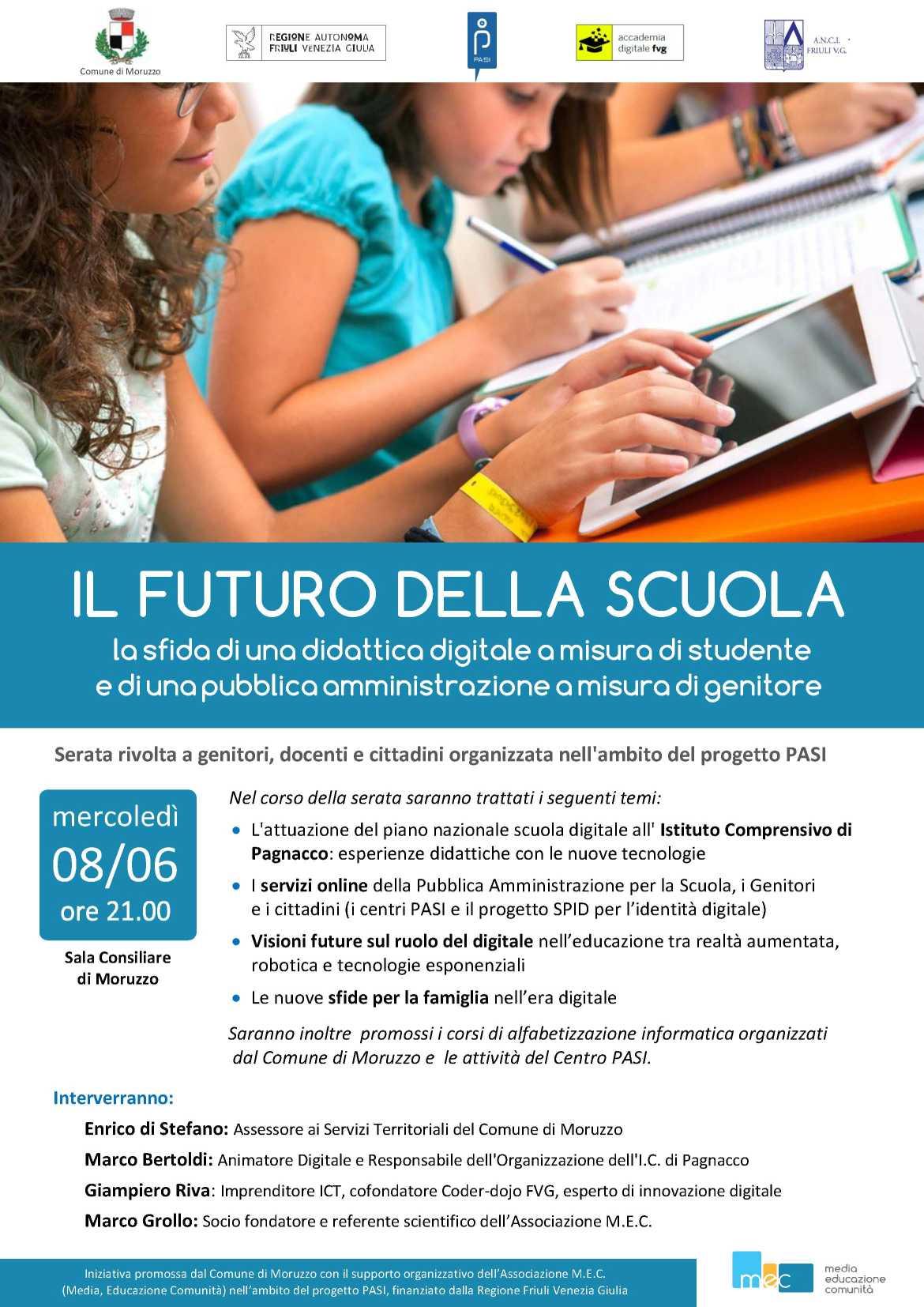 Il futuro della scuola, la sfida di una didattica digitale a misura di studente e di una pubblica amministrazione a misura di genitore