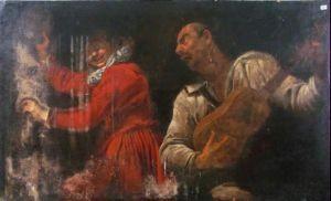 Palermo: I Club service restaurano una tela del '700 di Gaspare Traversi