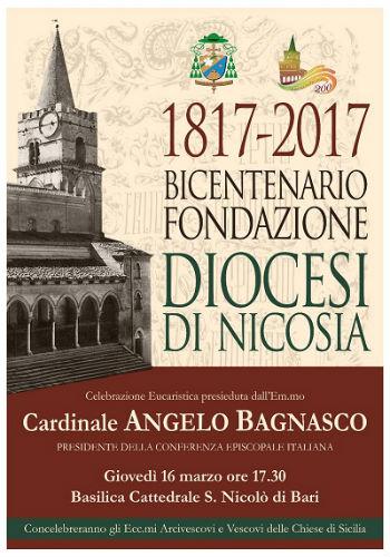 Festeggiamenti per il Bicentenario di Fondazione della Diocesi di Nicosia