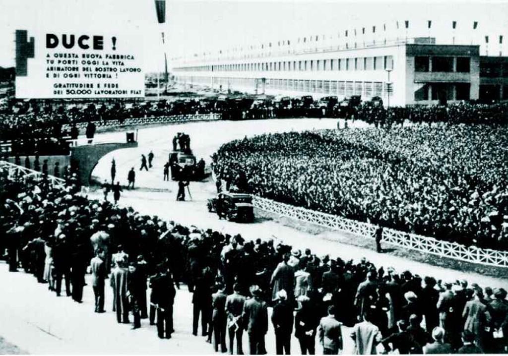 15 maggio 1939: Viene inaugurato a Torino lo stabilimento di Fiat Mirafiori