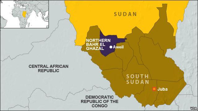 Sud Sudan: Formato nuovo gruppo ribelle nello Stato Bahr al-Ghazal Settentrionale » Guerre nel Mondo