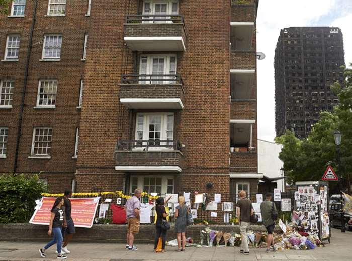 In Gran Bretagna 34 edifici hanno fallito i test antincendio