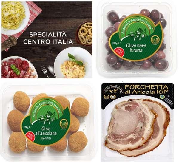 Prime Now aumenta le proprie specialità con i prodotti tipici regionali di Abruzzo, Lazio, Marche e Umbria