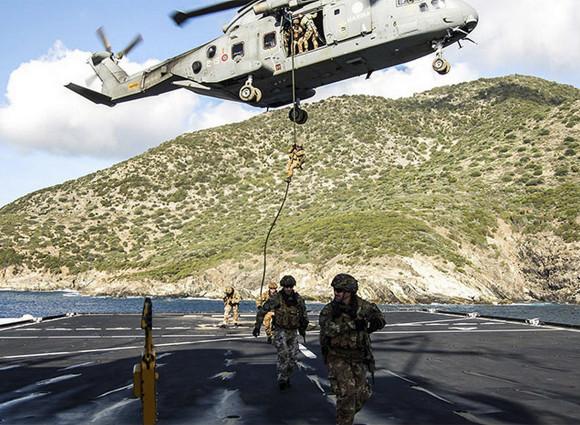 Cagliari: iniziata l'esercitazione NATO Mare Aperto