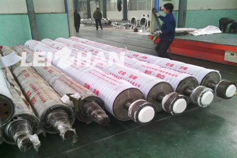 Application of Roller Parts in Paper Machine