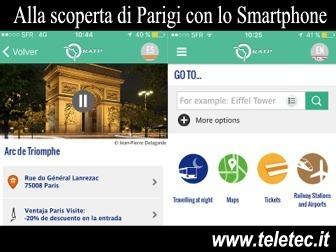 Utilissima App per muoversi a Parigi con lo Smartphone
