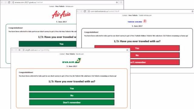 Attenzione: su Facebook arriva la truffa dei finti biglietti aerei gratis