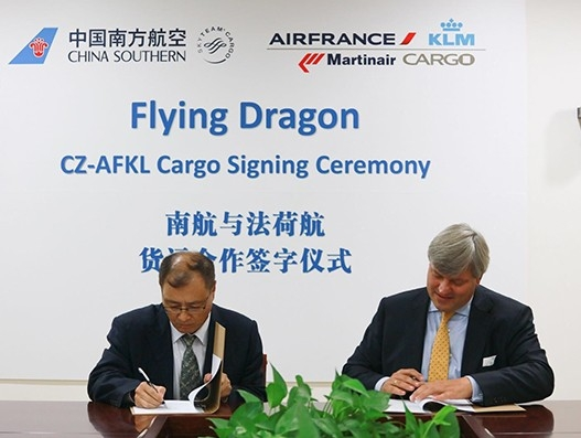China Southern Airlines Cargo, Air France KLM Martinair Cargo deepen strategic ties | Air Cargo