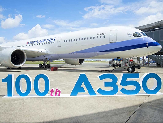 100th Airbus A350 XWB aircraft delivered to China Airlines | Aviation