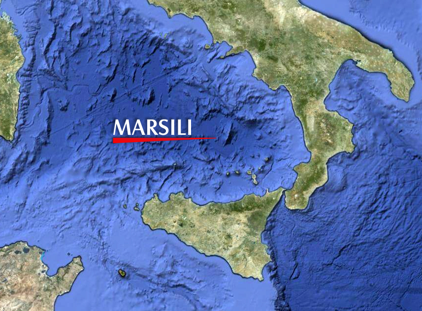 Il vulcano sommerso, il Marsili