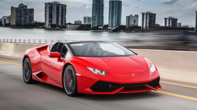 Lamborghini Huracan RWD Spyder: una supercar decappottabile da sogno