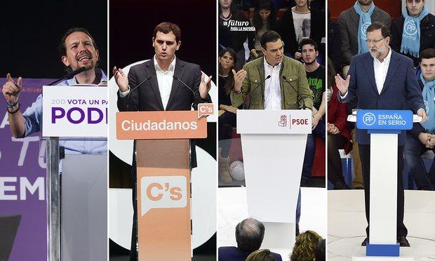 Campagna elettorale in Spagna per le elezioni politiche del 26 giugno