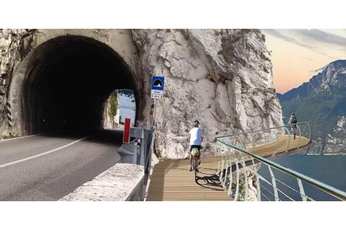 Garda by Bike, la pista ciclabile del futuro