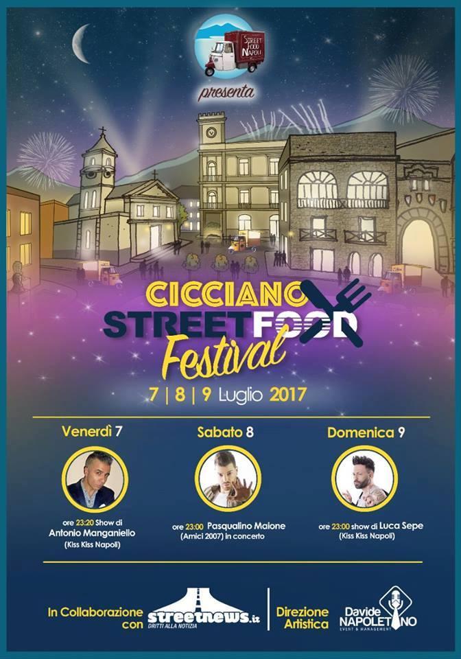 Arriva Lo Street Food Festival: spettacolo e cibo di strada protagonisti a Cicciano