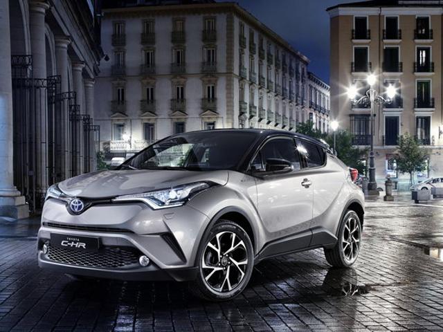 Toyota C-HR, il nuovo SUV ibrido giapponese che sembra venire dal futuro!