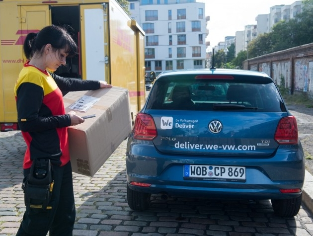 DHL Parcel and Volkswagen launch joint pilot project in Berlin | Supply Chain