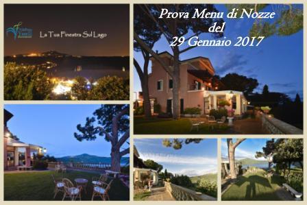 SAVE THE DATE - Domenica 29 Gennaio 2017: Prova Menù di Nozze