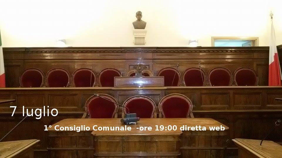 Caltagirone: Consiglio comunale,giovedì 7 luglio la prima seduta, diretta online.