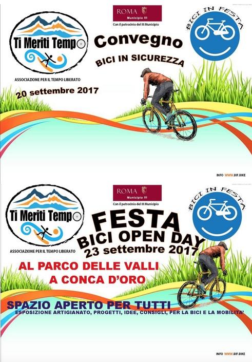 #BIF - Bici in Festa: Ti Meriti Sicurezza - Edizione 2017 - Il suono della bicicletta sull'asfalto