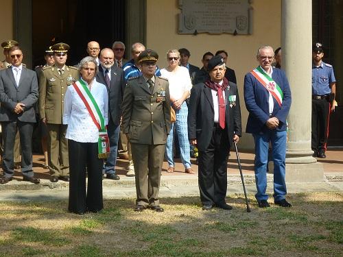 Si è svolta nella Caserma Redi di Firenze la cerimonia di commemorazione del 184° anniversario del Corpo Sanitario