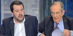 Matteo Salvini e il suo sostegno per il No al referendum