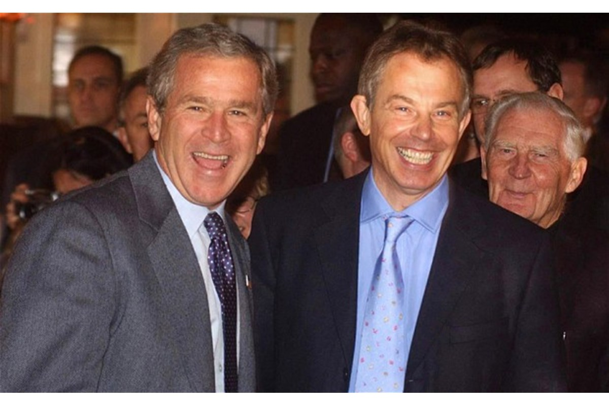 In una nota di Tony Blair a George Bush, i piani per un nuovo ordine mondiale post-Iraq