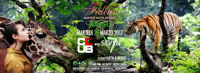 28/3 Fidelio Milano Jungle @ The Club meets Seven Lugano