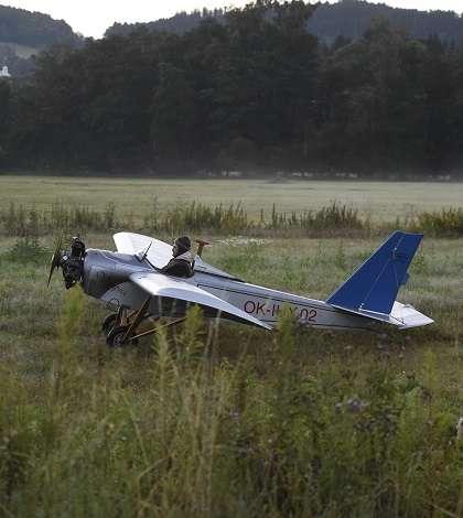 Si costruisce un aereo fai da te per andare in ufficio